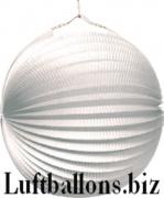 Party- und Festdekoration, Lampion, Weiß