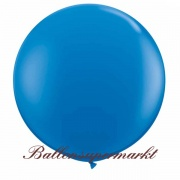 Riesenballon, Riesen-Luftballon, Blau, 120 cm