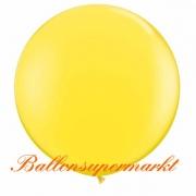 Riesenballon, Riesen-Luftballon, Gelb, 150 cm