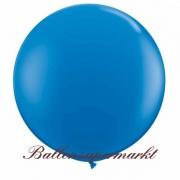 Riesenballon, Riesen-Luftballon, Blau, 90-100 cm
