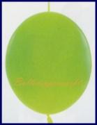 Girlanden-Luftballons, Limonengrün, 50 Stück