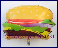 Hamburger, Deko-Luftballon aus Folie