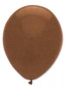 Luftballons, Farbe Braun, Größe 30 cm, 100 Stück