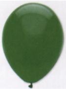 Luftballons, Farbe Dunkelgrün, Größe 30 cm, 50 Stück