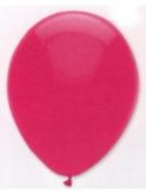 Luftballons, Farbe Fuchsia, Größe 30 cm, 100 Stück