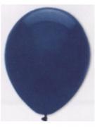 Luftballons, Farbe Marineblau, Größe 30 cm, 100 Stück