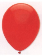 Luftballons, Farbe Rot, Größe 30 cm, 100 Stück