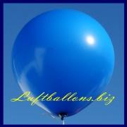 Großer Luftballon, Rund, 48-51 cm, Farbe Blau