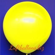 Großer Luftballon, Rund, 48-51 cm, Farbe Gelb
