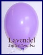 Luftballons, Rundballons in 25 cm, Lavendel, 100 Stück