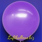 Großer Luftballon, Rund, 48-51 cm, Farbe Lavendel