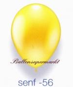 Deko-Luftballons, Metallicfarben, Senf, 28-30 cm, 100 Stück