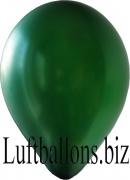 Luftballons Metallic, Malachitgrün, 100 Stück, 30 cm
