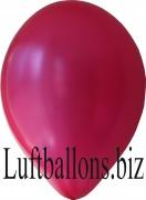 Luftballons Metallic, Pink, 100 Stück, 30 cm