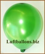 Mini-Metallic-Latexballons, Grün, 100 Stück