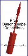 Ballonpumpe mit Zweiwege-System, Pumpe zum Aufblasen von Luftballons