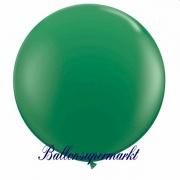 Riesenballon, Riesen-Luftballon, Grün, 60 cm
