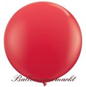 Riesenballon, Riesen-Luftballon, Rot, 60 cm