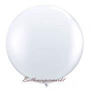 Riesenballon, Riesen-Luftballon, Transparent, 120 cm