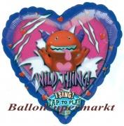 Musikballon, Luftballon mit Musikmodul, Wild Thing