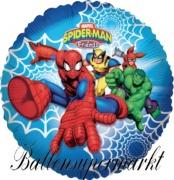 Spiderman and Friends Luftballon mit Helium, Kindergeburtstag u. Geschenk