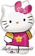 Luftballon Hello Kitty, Summer Kitty, Shape, Kindergeburtstag u. Geschenk
