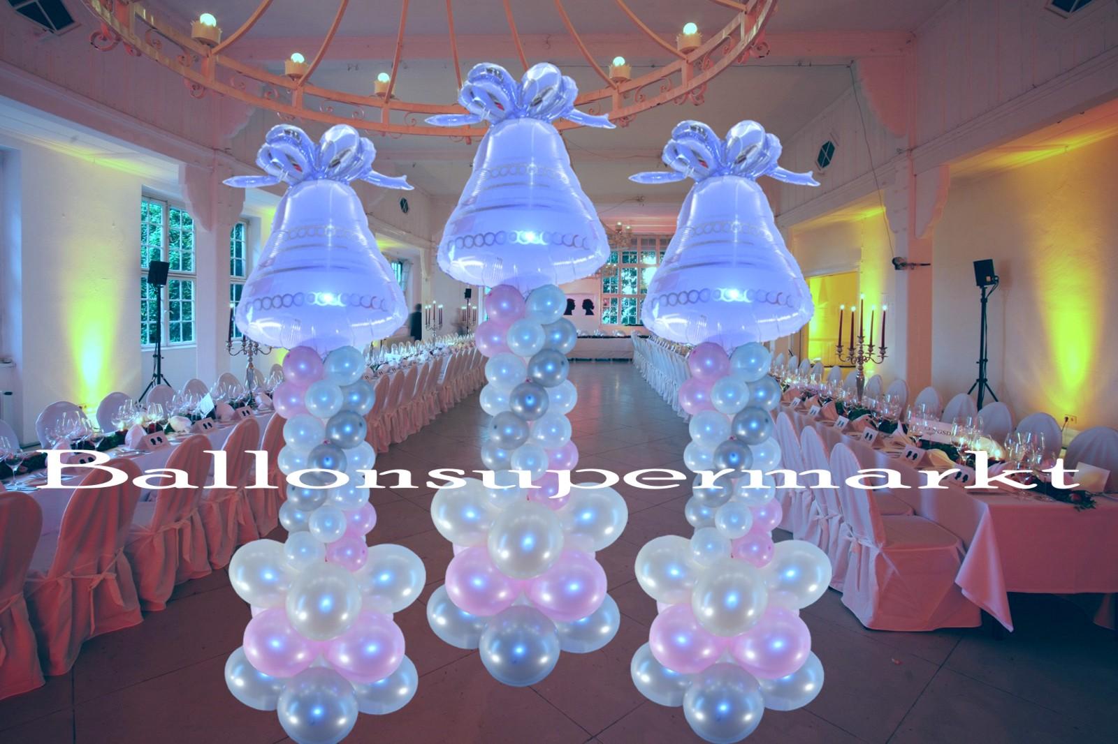 Ballondekoration Hochzeit Hochzeitsglocke Lu Hs