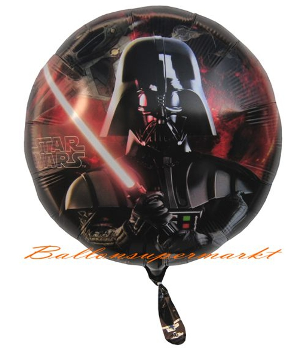 star wars folien luftballon mit helium lu luftballon star. Black Bedroom Furniture Sets. Home Design Ideas