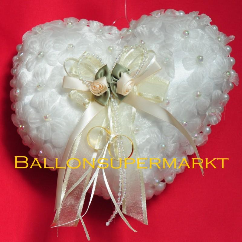 Hochzeitsdeko, Perlen, Blüten und Schleife-LU HS Hochzeitsdeko ...