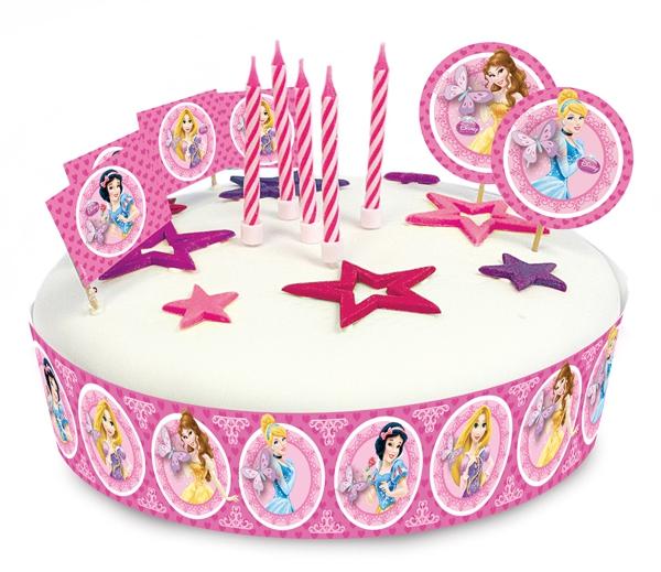 Torten Dekorations Set Prinzessinnen Disney Princess