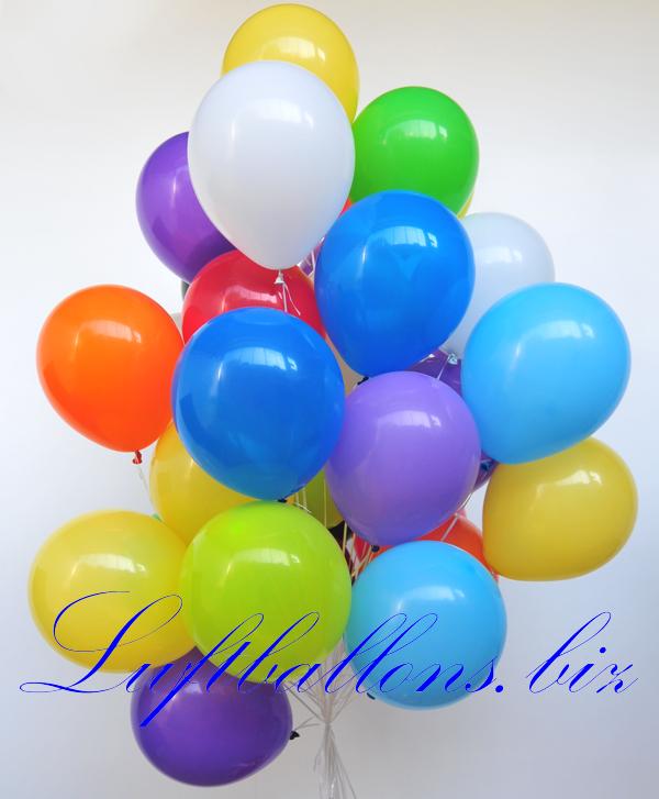 luftballons farben bunt gemischt gr e 30 cm 100 st ck lu luftballons 30cm gf 12 g s bunt g 100. Black Bedroom Furniture Sets. Home Design Ideas