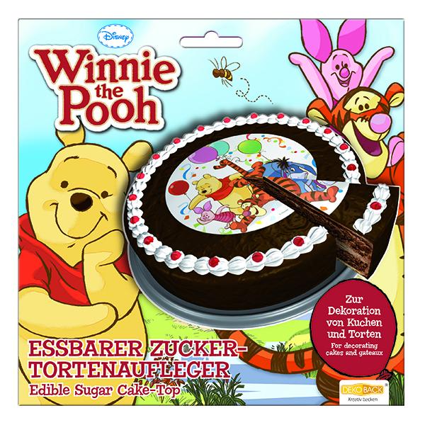 Tortenaufleger winnie the pooh pu b r kuchendekoration lu for Winnie pooh kuchen deko