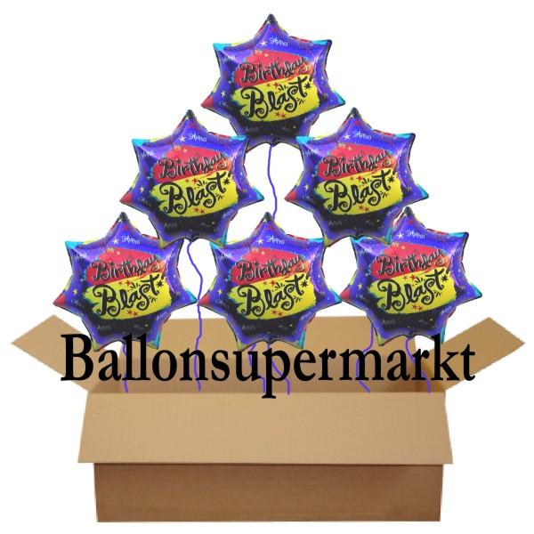 Luftballons aus folie geburtstagsdekoration for Geburtstagsdekoration
