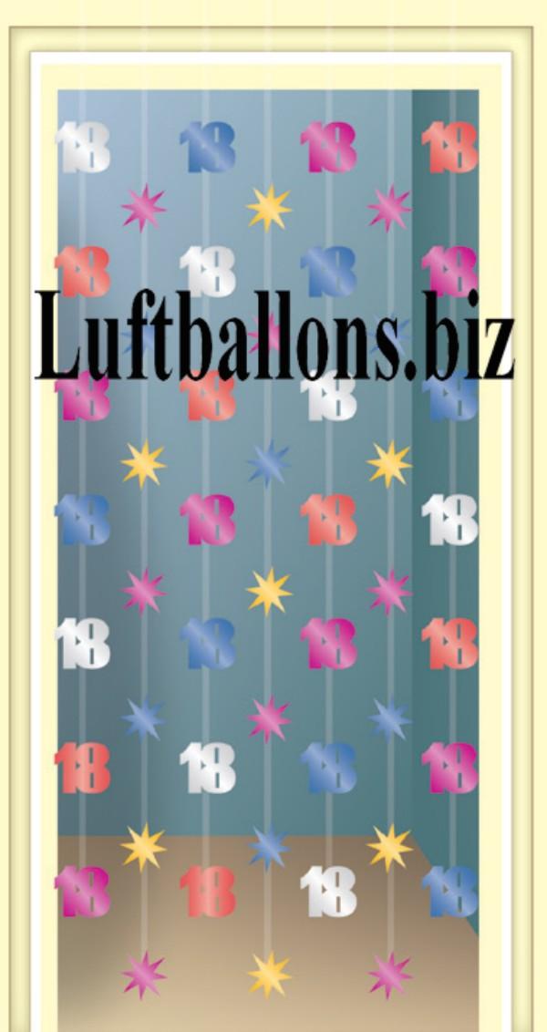 Geburtstag dekoration zahlendeko ketten portaldeko zum for Dekoration zum 18 geburtstag