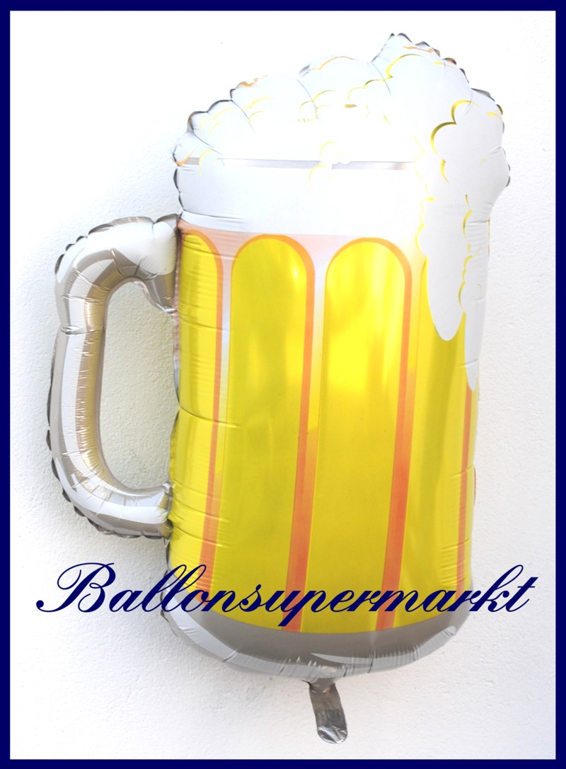 Bierkrug deko luftballon aus folie lu luftballons deko folie bierkrug 15442 - Luftballon deko ...