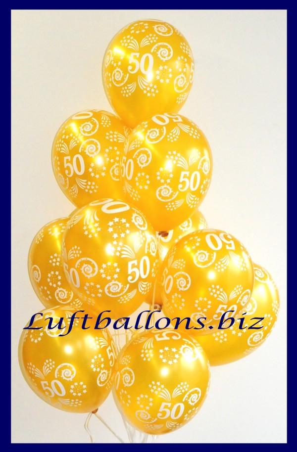 goldene luftballons