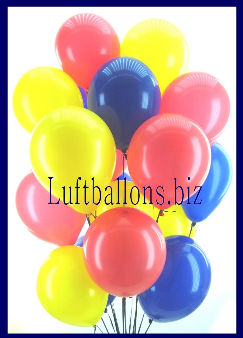 helium luftballons rundballons in 25 28 cm 100 st ck lu. Black Bedroom Furniture Sets. Home Design Ideas