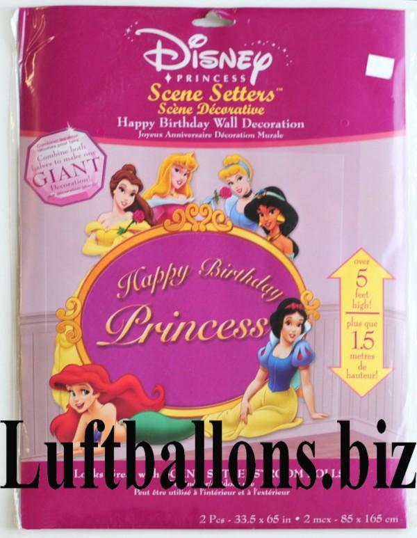 Wandposter Prinzessinnen Disney Princess Poster Lu Wandposter