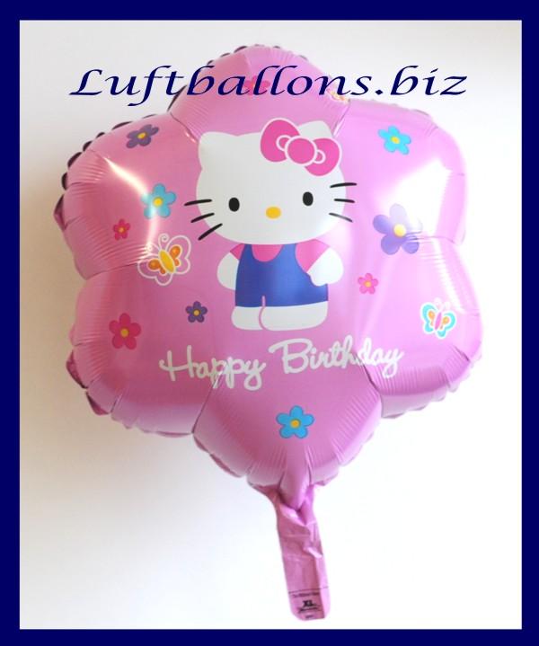 happy birthday mit hello kitty folien luftballon zum geburtstag lu folien luftballon geburtstag. Black Bedroom Furniture Sets. Home Design Ideas