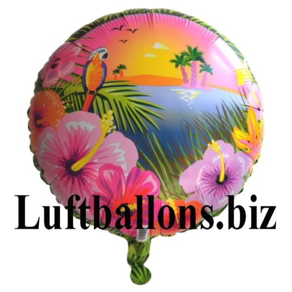 Hawaii party luftballon lu hawaii party luftballon mh 19192 - Luftballon deko ...