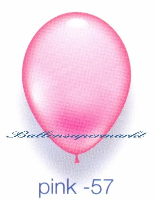 Deko luftballons standardfarben pink 28 30 cm 25 st ck for Pink deko