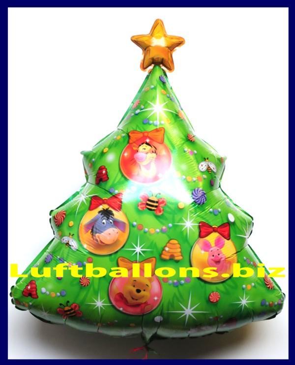 luftballon weihnachten weihnachtsbaum winnie the pooh lu luftballon weihnachten winnie the pooh. Black Bedroom Furniture Sets. Home Design Ideas