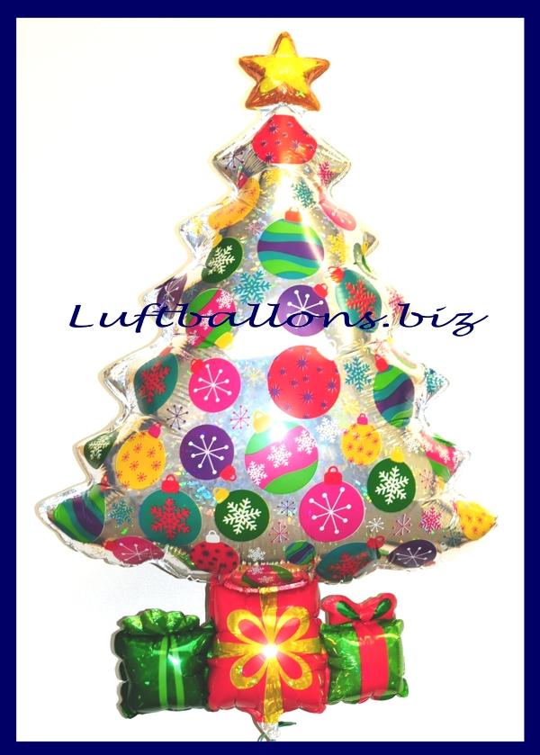 luftballon weihnachten weihnachtsbaum prismatik lu. Black Bedroom Furniture Sets. Home Design Ideas