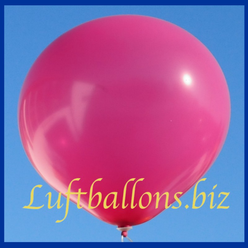 gro er luftballon rund 48 51 cm farbe magenta lu luftballon 48 51 cm rund r 150 111 magent 1. Black Bedroom Furniture Sets. Home Design Ideas