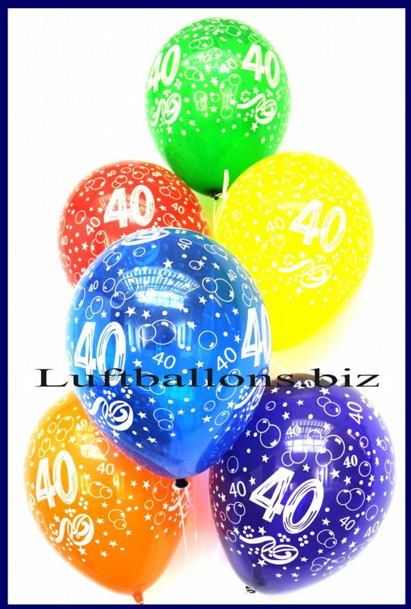 zahlen luftballons zahl 40 kristallfarben 50 st ck lu luftballons zahlen 40 lftbz kristall 50. Black Bedroom Furniture Sets. Home Design Ideas