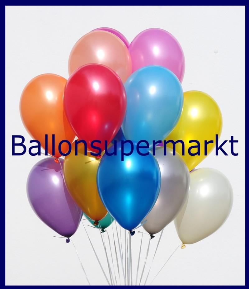 deko luftballons metallicfarben gr n 28 30 cm 50 st ck lu deko luftballons k 1 metallic 50. Black Bedroom Furniture Sets. Home Design Ideas