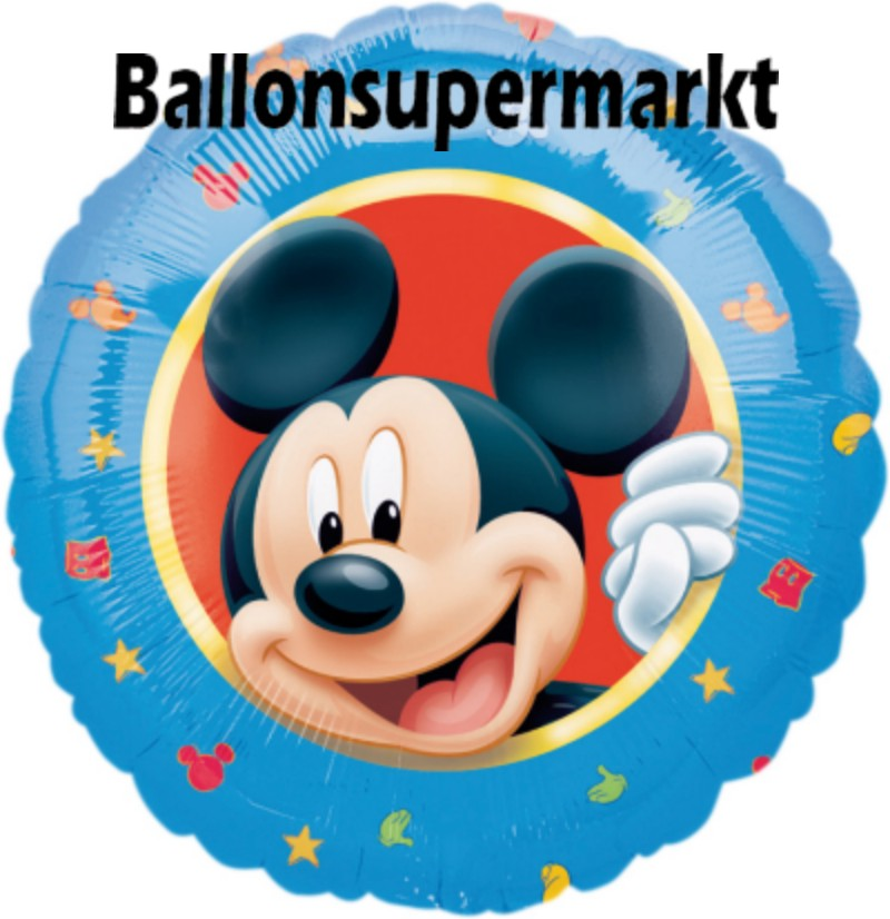 Micky Maus Luftballons mit Helium, Kindergeburtstag Geschenke, 6 ...