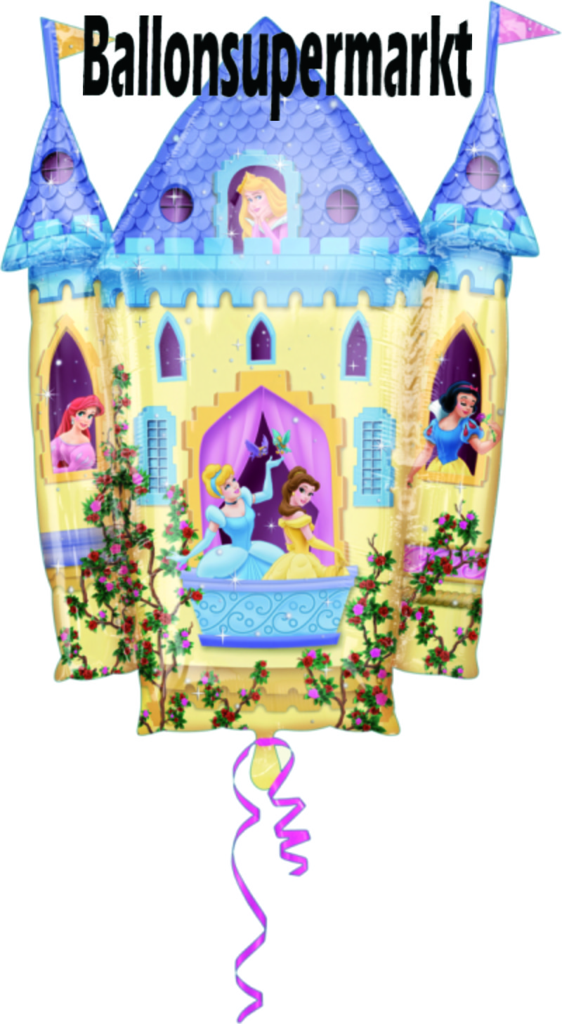 disney prinzessinnen schlo princess castle luftballon lu disney prinzessinnen schlo princess. Black Bedroom Furniture Sets. Home Design Ideas