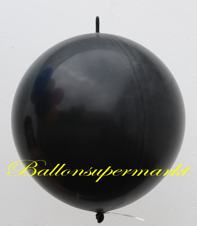 link ballon deko kettenballon girlandenballon 60 70 cm 30 schwarz lu riesen girlanden. Black Bedroom Furniture Sets. Home Design Ideas