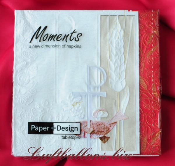 Servietten zur kommunion papierservietten for Servietten tischdeko